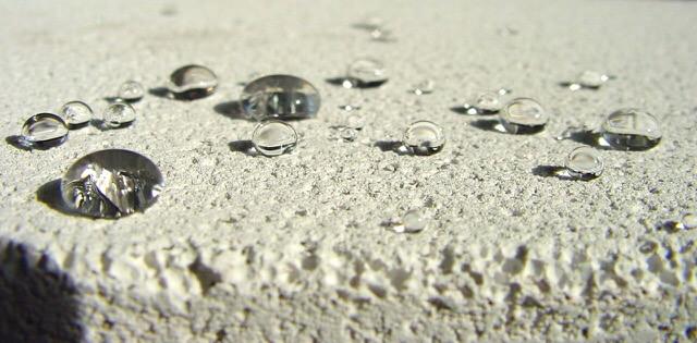 Gehydrofobeerd beton